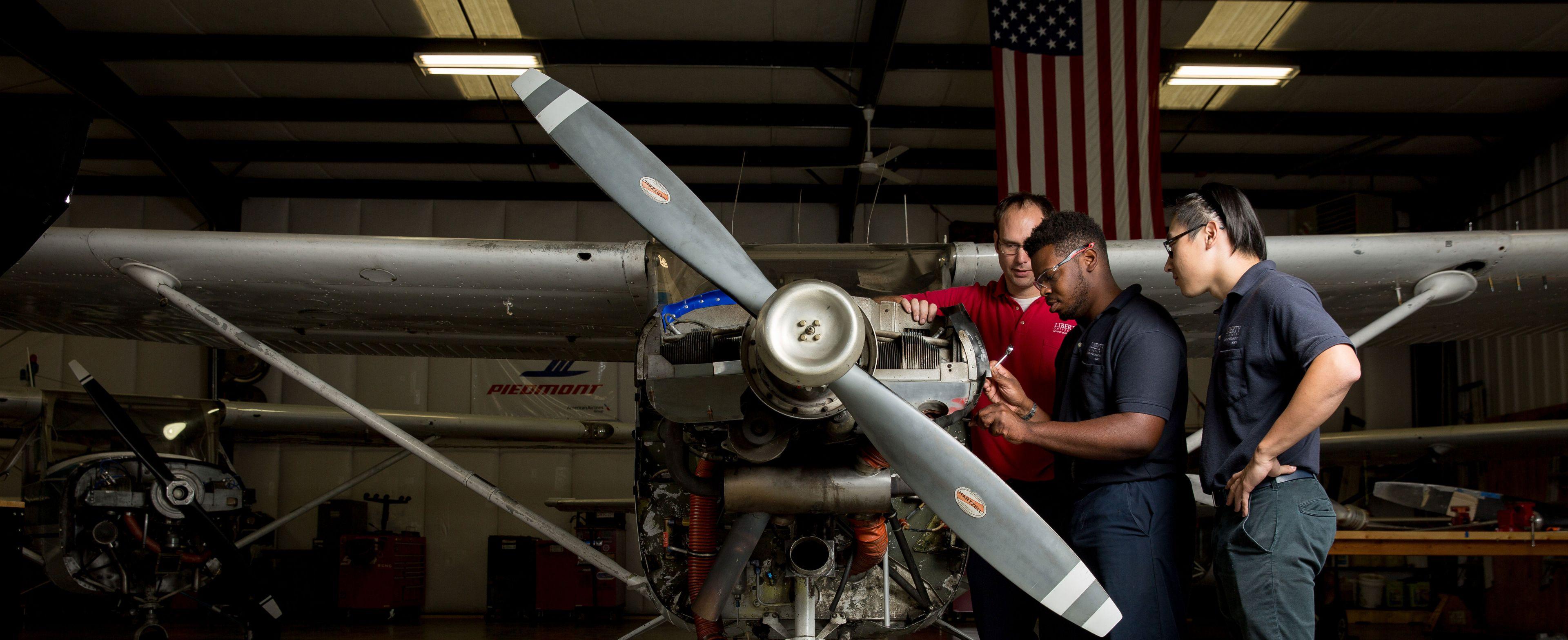 B S  in Aviation Maintenance Management Online | Liberty