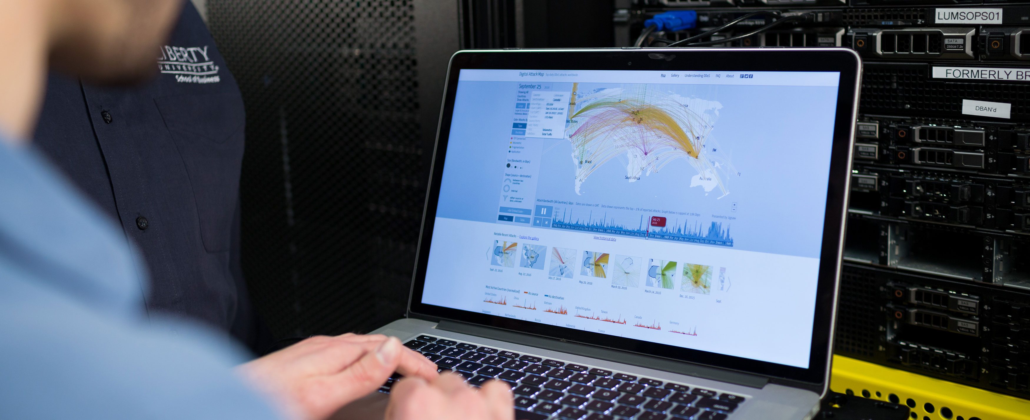 Online Master's in Cyber Security at Liberty University