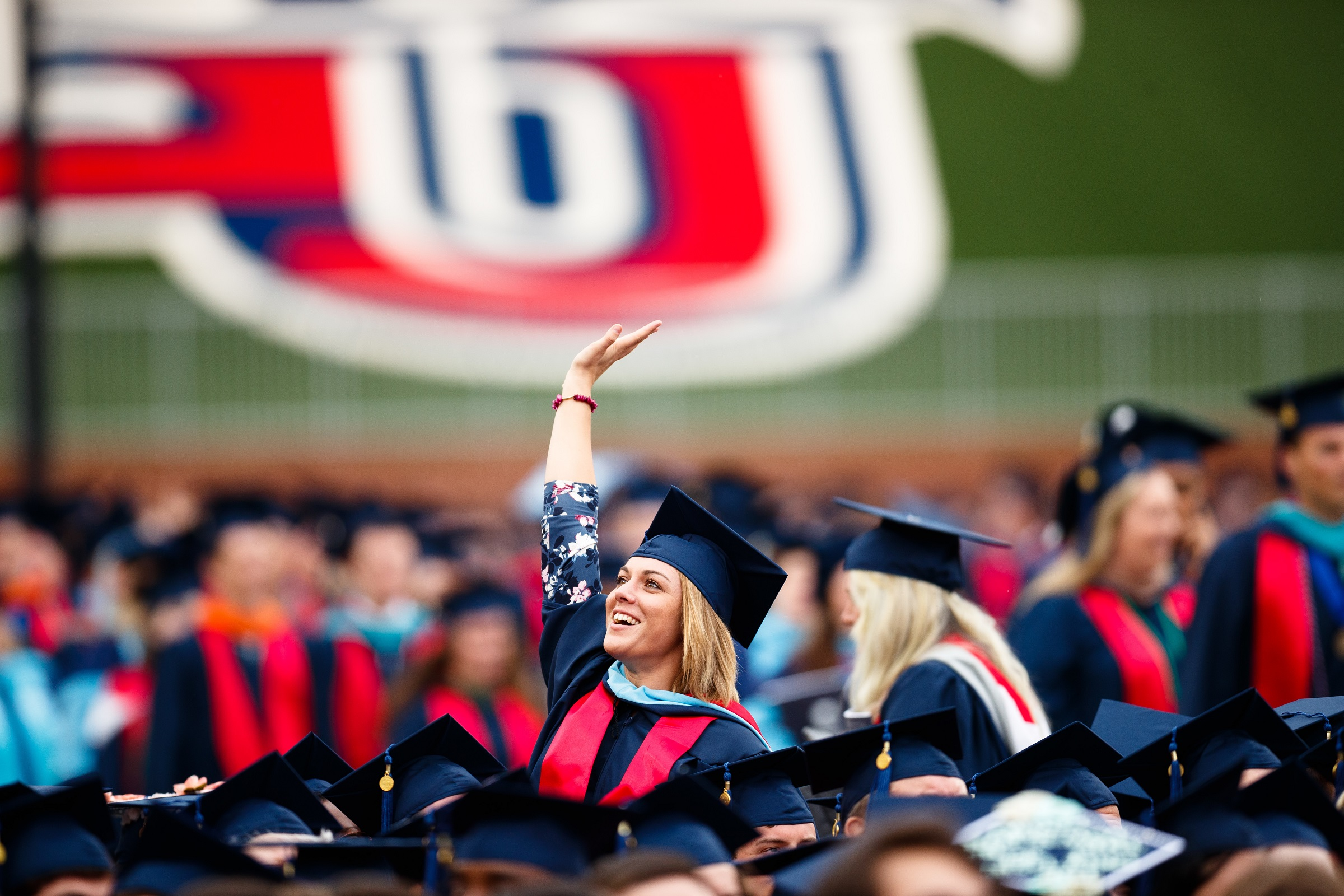 Liberty Graduation for Online and On Campus Students