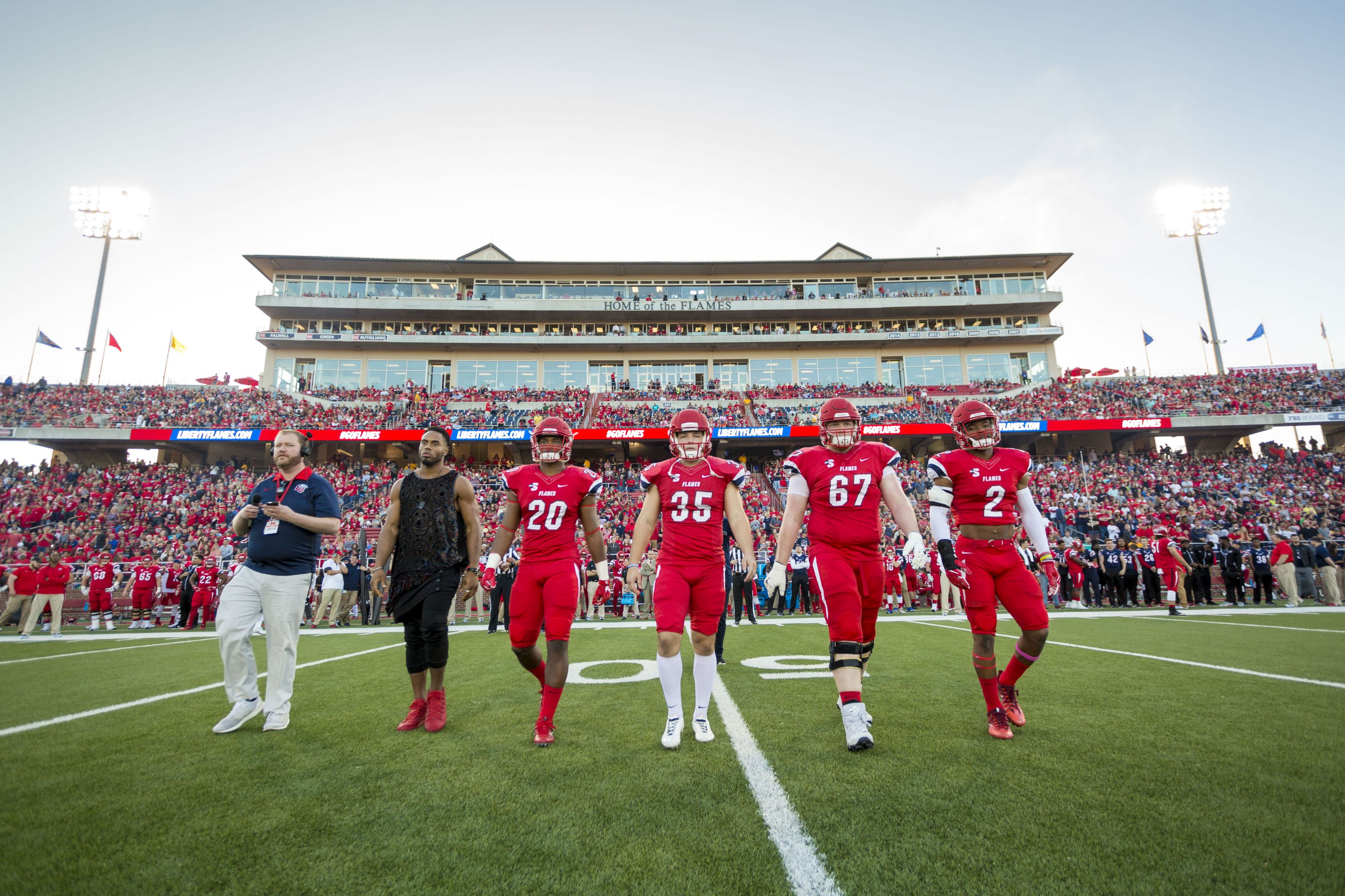 Liberty Flames Football Athletics