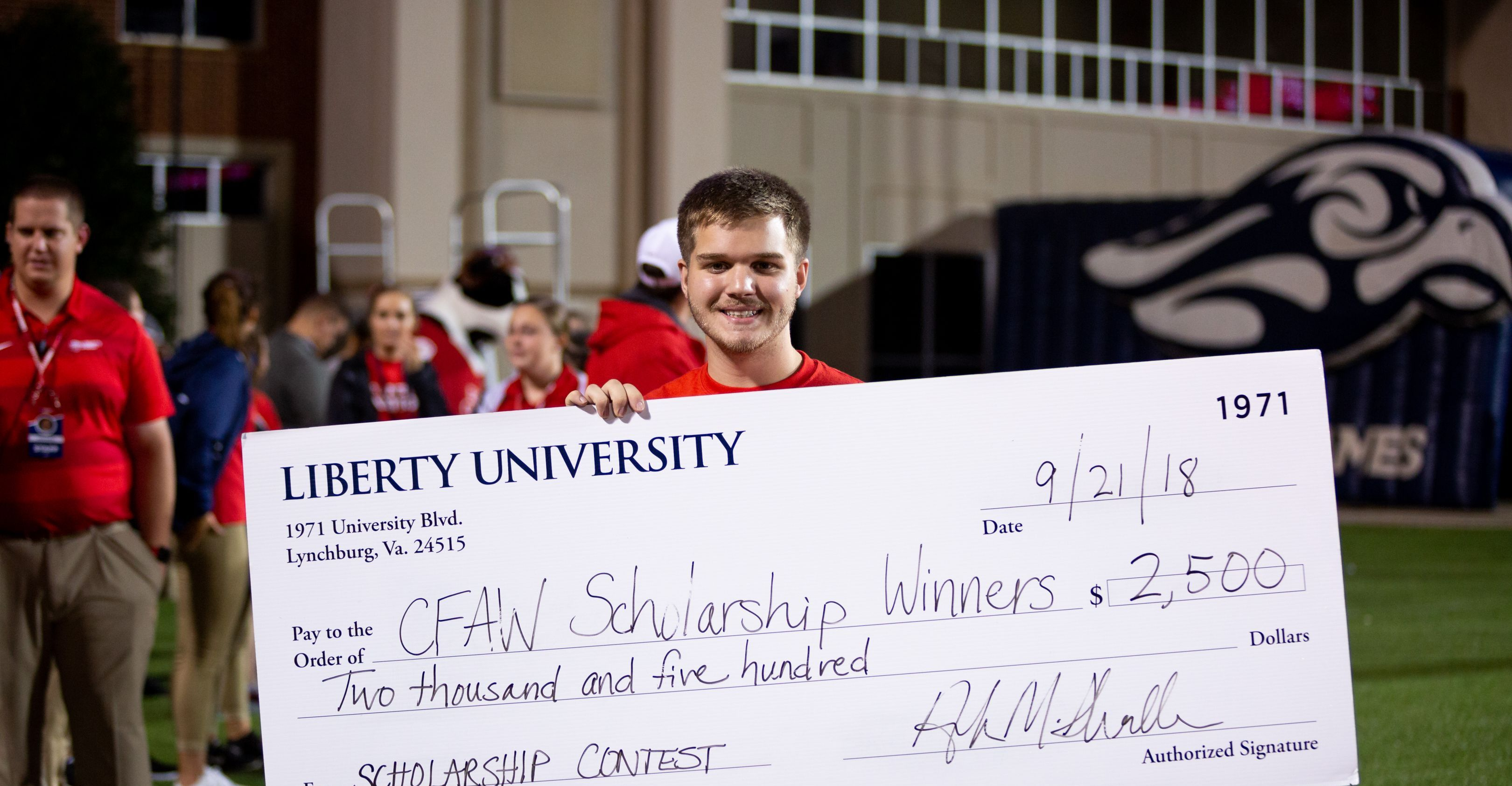 Cfaw Scholarship Official Rules Header